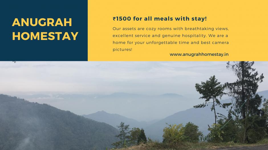 Anugrah Homestay in Toryok Darjeeling