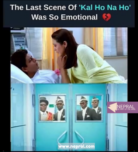 Funny Bollywood Memes - Last Scene of Kal Ho Na Ho was so emotional