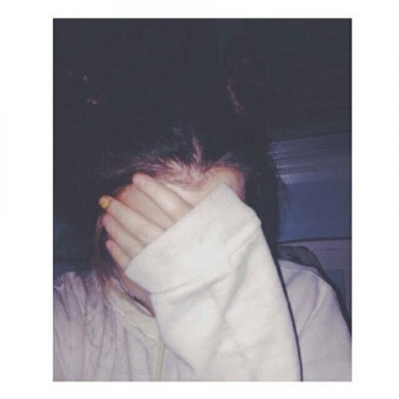 Hiding my face - Bed Time