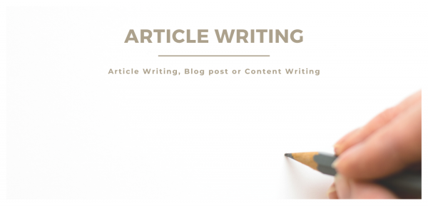 I will write Original Content for your Blog Posts, Websites or Articles at Just Rs 500